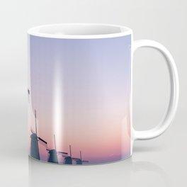 Windmills at Sunrise II Coffee Mug