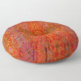 Abstract sparkle beautiful samples Floor Pillow