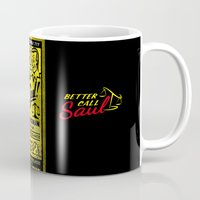 better call saul Mugs featuring Saul Goodman - Better Call Saul Mug by Pablo Napo
