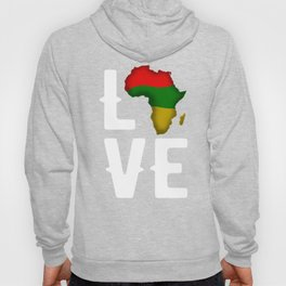 Black History Month Shirt Love African Pride Gift Hoody