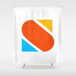 Letter S Shower Curtain