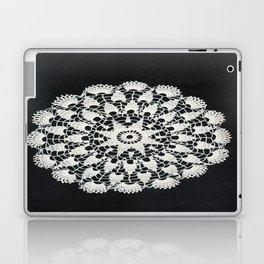beige black lace Laptop & iPad Skin