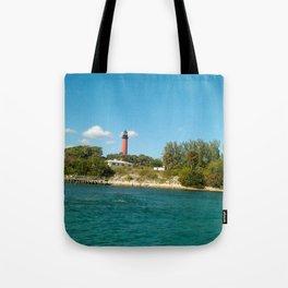 shoreline light Tote Bag