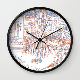 Luka and the Fire of Life Wall Clock