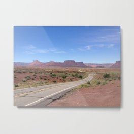 TO MOAB Metal Print
