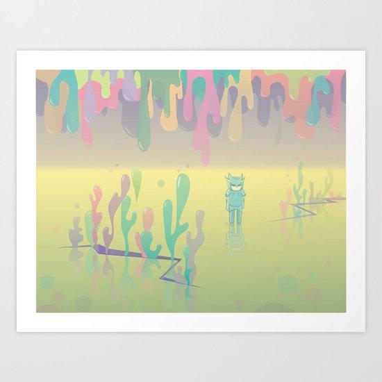 one more world Art Print