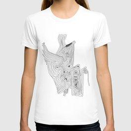 Love acceptance - minimalistic drawing T-shirt