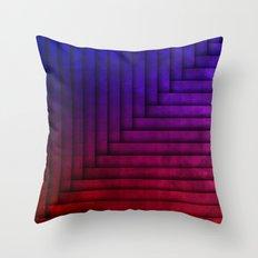 redXblue Throw Pillow
