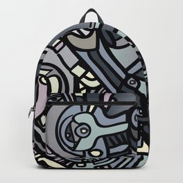 ROBOTS OF THE WORLD Backpack