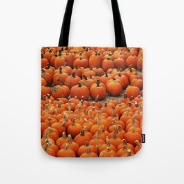 More than a peck of pumpkins at Peck's Produce Farm Market! Tote Bag