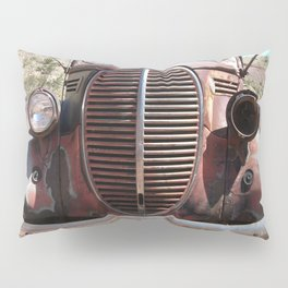 Truck Grill, Old Truck, Old Truck Grill Pillow Sham