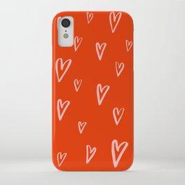 Heart Doodles 2 iPhone Case
