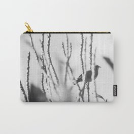 Bird - Black And White Carry-All Pouch