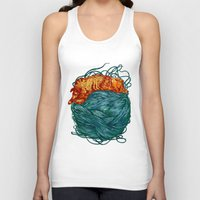 happiness Tank Tops featuring Happiness  by Nicolae Negura