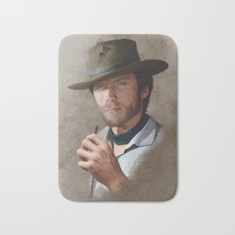 Man with no name ( Clint Eastwood ) Bath Mat