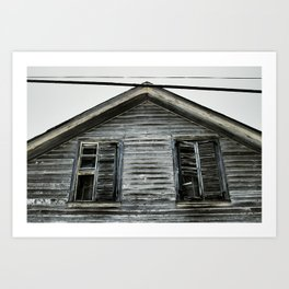 {not in kansas} Art Print