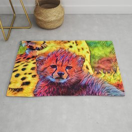 AnimalColor_Cheetah_002_by_JAMColors Rug