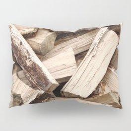 Firewood Pillow Sham