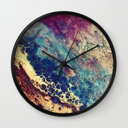 The Cracks Start To Show Wall Clock