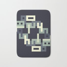 Sequence Bath Mat