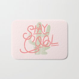 Stay Cool Cactus Bath Mat