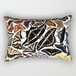 Butterflies of North America Rectangular Pillow