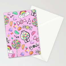 Cute Little Candies Stationery Cards