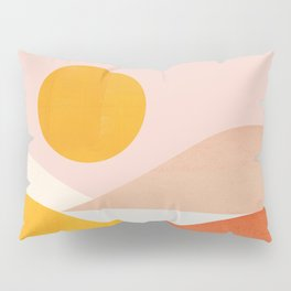 Abstraction_Mountains Pillow Sham