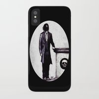 cyberpunk iPhone & iPod Cases featuring Life's Course You Flunk, Compute and Cyberpunk by Zombie Rust
