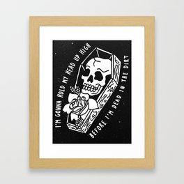 Relapsing Beartooth Framed Art Print