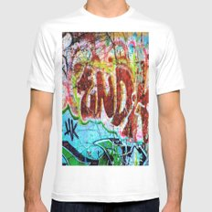 The End White Mens Fitted Tee MEDIUM