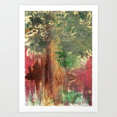 Mighty Tree Art Print