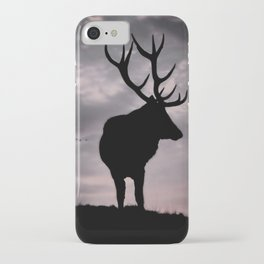 Stag And Sunset 2 iPhone Case