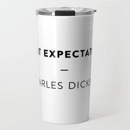Great Expectations  —  Charles Dickens Travel Mug