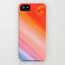 Saturday's Sun iPhone Case