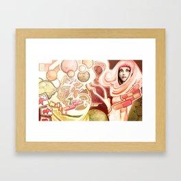 Yum Framed Art Print