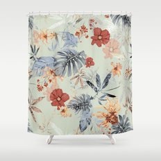 Tropical Daylight Shower Curtain