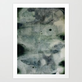 Deep Green Art Print