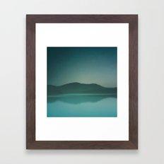 Lakeside Drive Framed Art Print