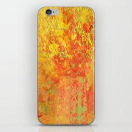 Yellow vase iPhone Skin