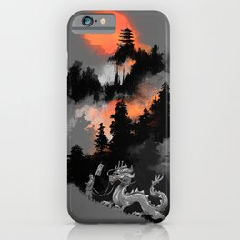 A samurai's life iPhone Case