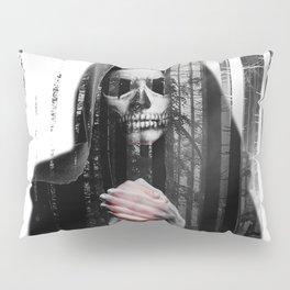 Death Waits Pillow Sham