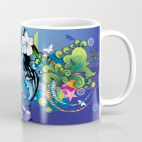 aloha Mugs featuring Aloha! by Robin Curtiss