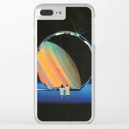 A Wrinkle In Time Clear iPhone Case