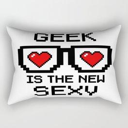 Geek is the New Sexy Rectangular Pillow