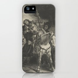 The Wounded Goetz Taken in by the Gypsies,1836–43 iPhone Case