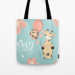 Little Jiraffe - Lovely Baby Tote Bag