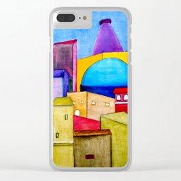 La Ciudad Alegre Clear iPhone Case