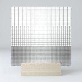 3 Grids Mini Art Print