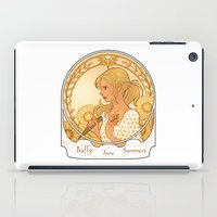 buffy iPad Cases featuring Buffy Summers  by Morgane Grosdidier de Matons